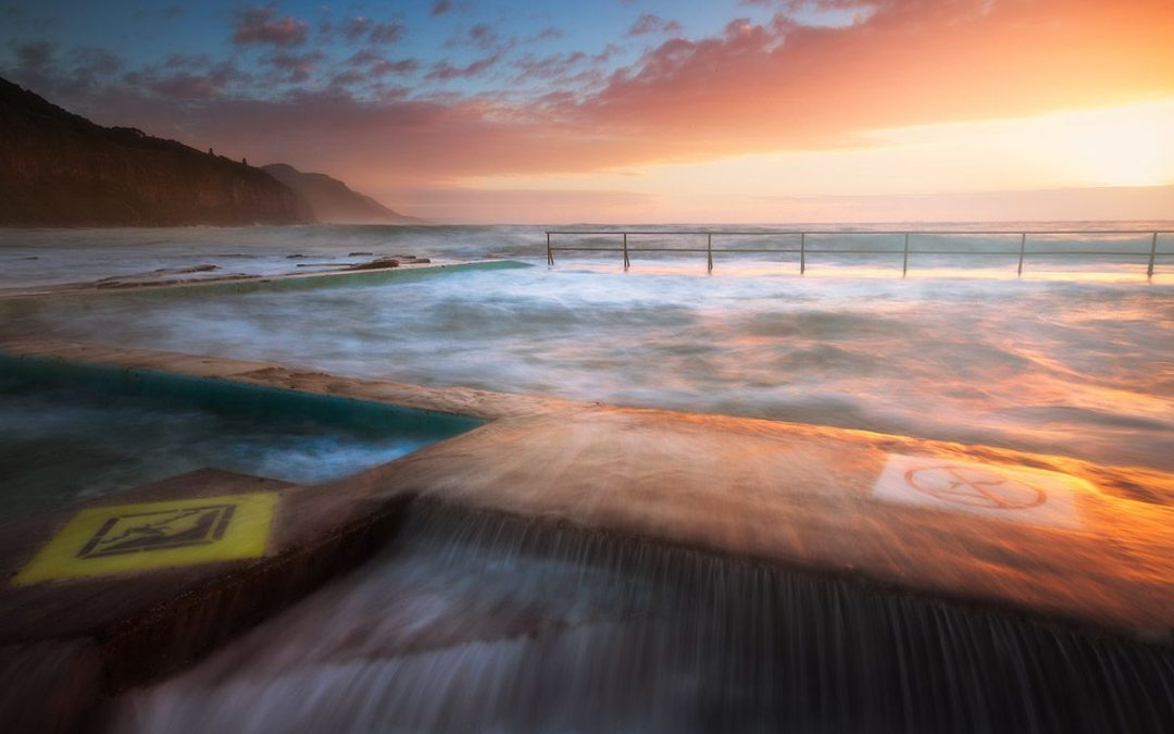 Shutter speeds and tidal pools